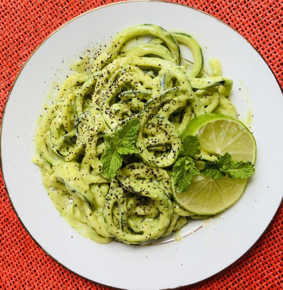 Selbst gemachte Zoodles