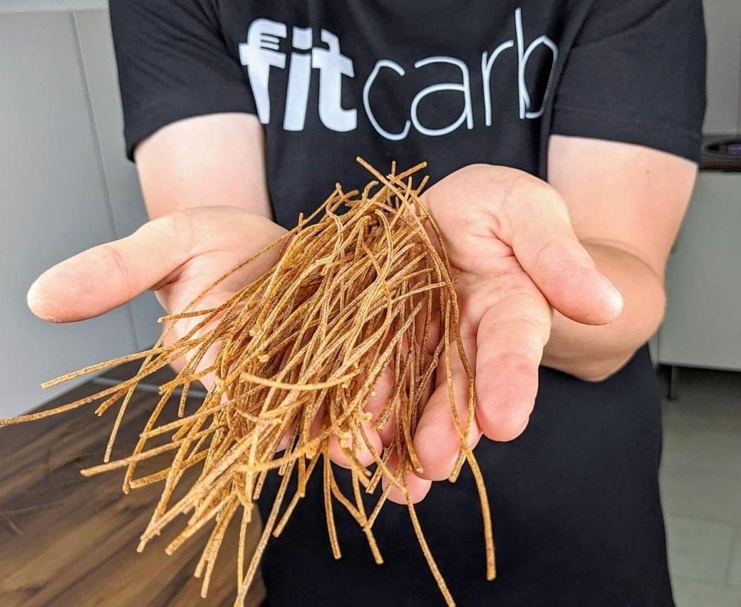 Edamama Azuki Bean Spaghetti aus der Adzukibohne