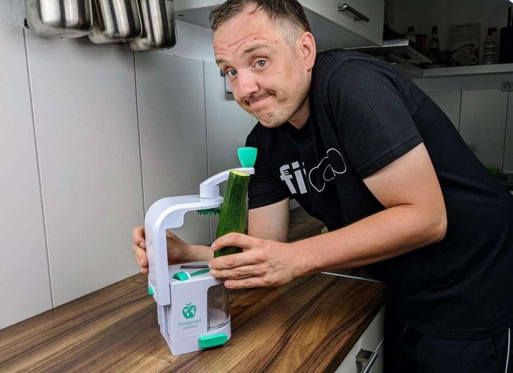 Freegreen Premium Spiralschneider im Test