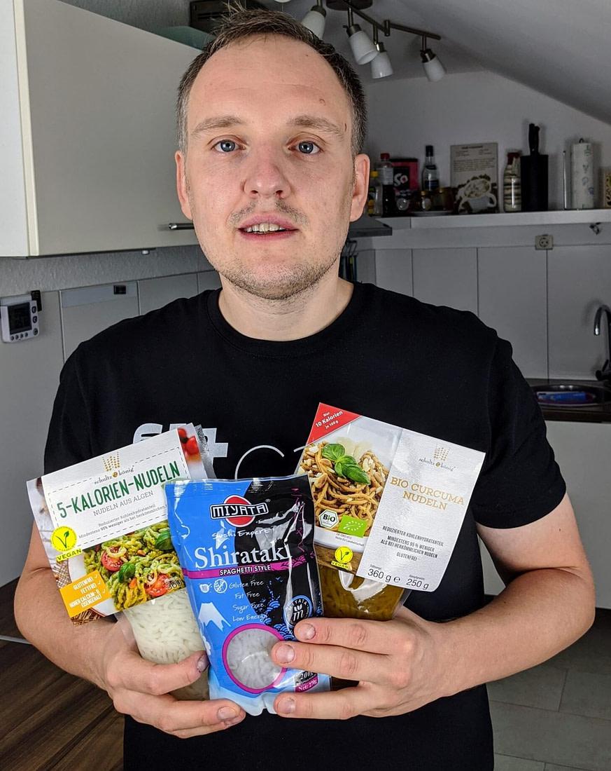 Nudeln ohne Kalorien und Kohlenhydrate