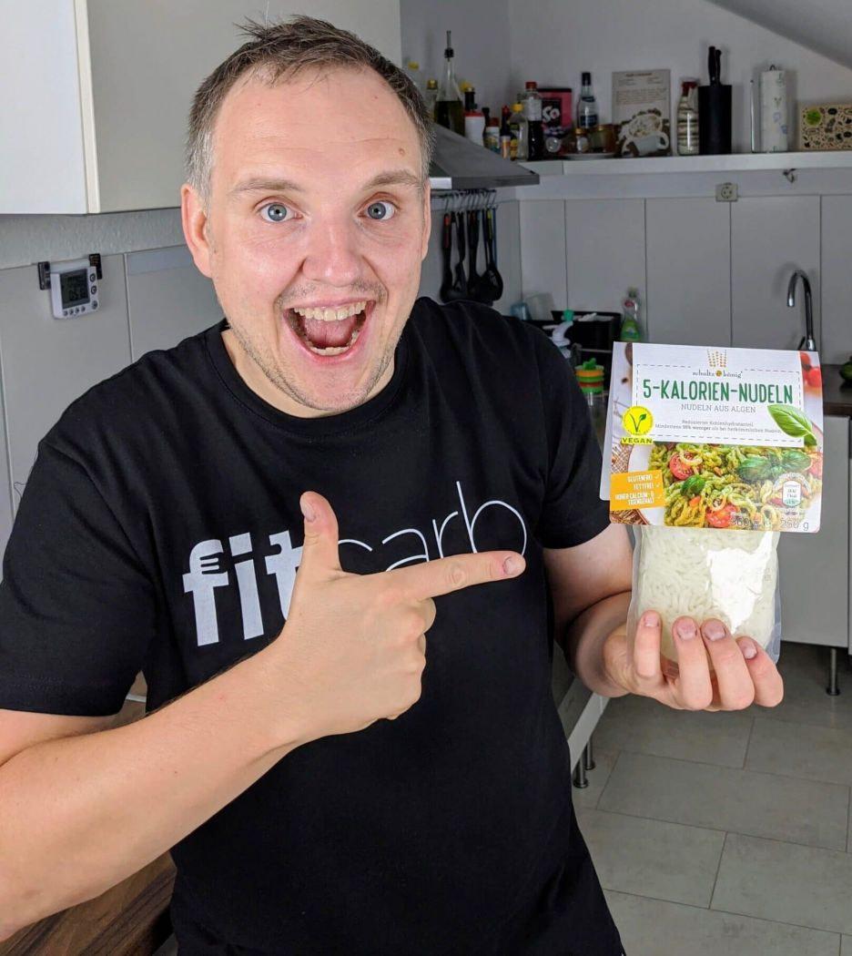 Schultz und Koenig 5 Kalorien Nudeln aus Alginat